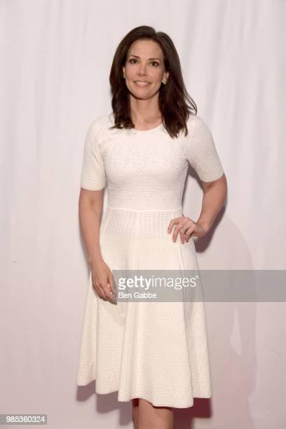 Erica Hill attends The Gracies presented by the Alliance for Women in Media Foundation at Cipriani 42nd Street on June 27 2018 in New York City
