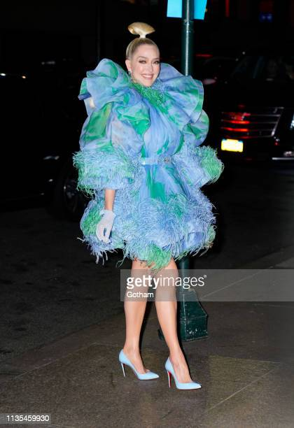 Erica Jayne attends Marc Jacobs and Char DeFrancesco's wedding reception at The Pool on April 6 2019 in New York City