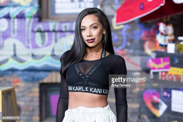 Erica Mena arrives for VH1's Hip Hop Honors The 90's Game Changers at Paramount Studios on September 17 2017 in Hollywood California