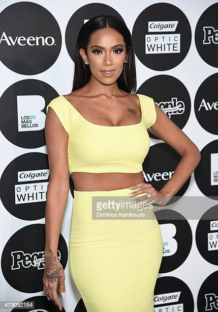 Erica Mena attends the People En Espanol's 50 Most Beautiful 2015 Gala on May 12 2015 in New York City