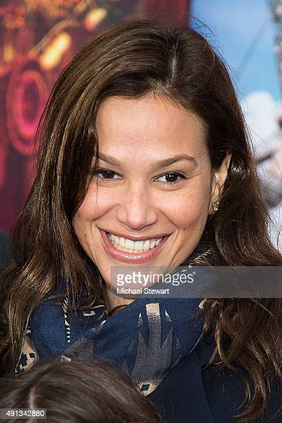 Erica Michelle Levy attends the Pan New York premiere at Ziegfeld Theater on October 4 2015 in New York City