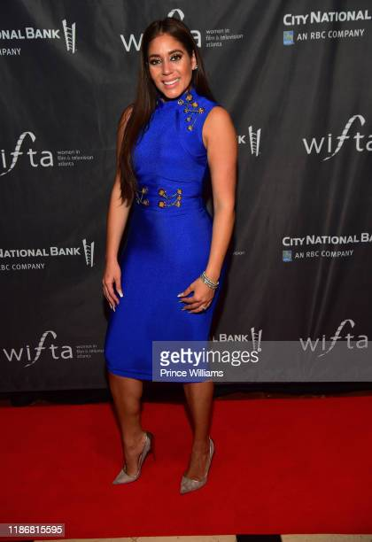 Erica Page attends the 2019 WIFTA Gala at Four Seasons Hotel on November 9 2019 in Atlanta Georgia