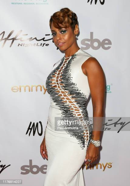 Erica Peeples attends the Affinity Nightlife's after party for the 71st EMMY Awards at HYDE Sunset Kitchen Cocktails on September 22 2019 in West...