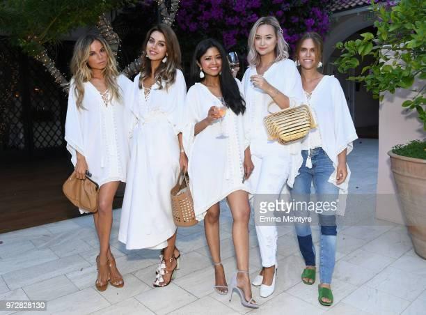 Erica Pelosini Annabelle Fleur Sheryl Luke Liz Cherkasova and Lauren Scruggs Kennedy attend Summer '18 Box of Style by Rachel Zoe Soiree at Hotel Bel...