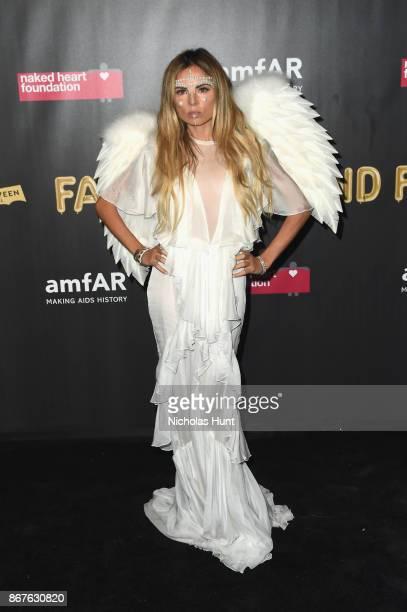 Erica Pelosini attends the 2017 amfAR The Naked Heart Foundation Fabulous Fund Fair at Skylight Clarkson Sq on October 28 2017 in New York City