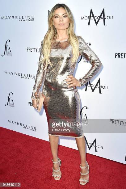Erica Pelosini attends The Daily Front Row's 4th Annual Fashion Los Angeles Awards - Arrivals at The Beverly Hills Hotel on April 8, 2018 in Beverly...