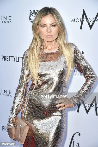 Erica Pelosini attends The Daily Front Row's 4th Annual Fashion Los Angeles Awards Arrivals at The Beverly Hills Hotel on April 8 2018 in Beverly...