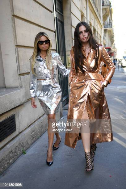Erica Pelosini attends the Redemption show as part of the Paris Fashion Week Womenswear Spring/Summer 2019 on September 27 2018 in Paris France