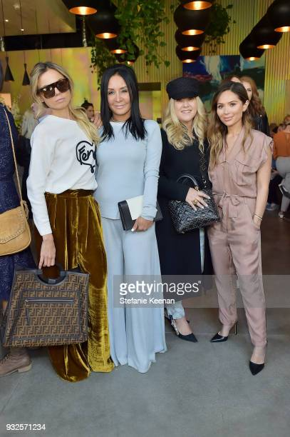 Erica Pelosini NJ Goldston Alison Cottrell and Marianna Hewitt attend Summer Fridays Skincare Launch With Marianna Hewitt Lauren Gores Ireland at...