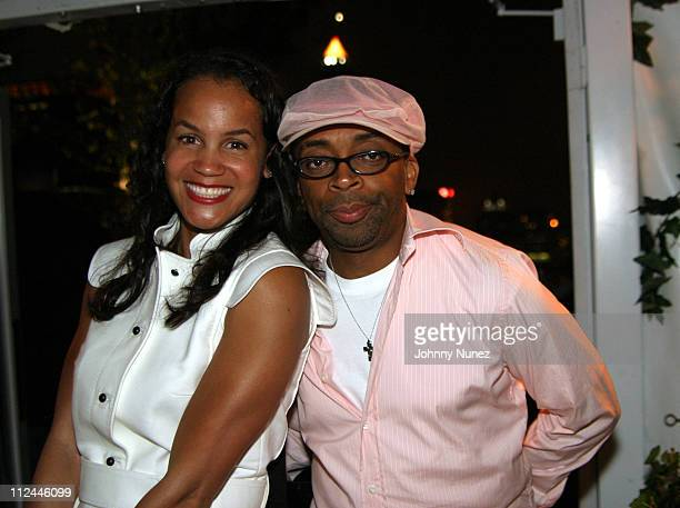 Erica Reid and Spike Lee during Tonya Lewis Lee and Crystal McCrary Anthony's Gotham Diaries Book Release Party at Hudson Hotel in New York City New...