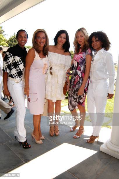 Erica Reid Denise Rich Dara Tomanovich Charlotte Bonstrom and June Haynes attend Valentino Luncheon and Special Presentation of the Fall/Winter 2009...