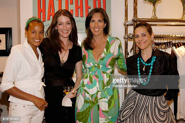 Erica Reid Sloane Tenen Liz Lange and Alexandra Lebenthal attend LIZ LANGE and LUCY SYKES Host Book Party for HATCHED by Sloane Tanen at Liz Lange...