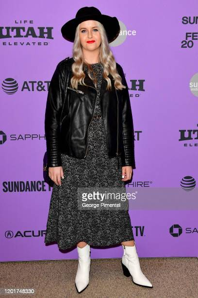 Erica Roe attends the Herself premiere during the 2020 Sundance Film Festival at Eccles Center Theatre on January 24 2020 in Park City Utah