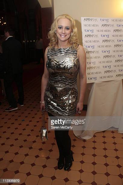 Erica Rose attends Niche Media's Bing's NYE Bash hosted by Haley Jason Binn and Aimee John Oates at Hotel Jerome on January 1 2010 in Aspen Colorado