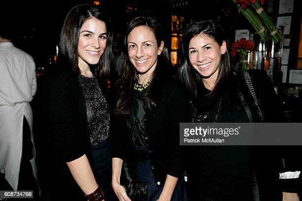 Erica Silverman Gretchen Fenton and Arianne Gold attend THE CINEMA SOCIETY and CHANEL Beaute host the after party for 'ATONEMENT' at Balthazar on...