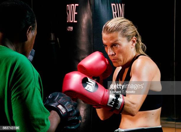 Erica Sugar Training with Partner