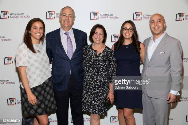 Erica Tabacoff David Tabacoff Sheri Tabacoff Helaine Waldman and Adam Waldman attend Multiple Myeloma Research Foundation Laugh for Life at Pier 60...