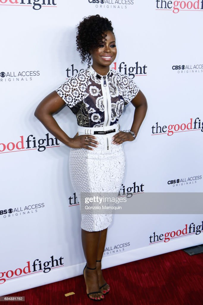 Erica Tazel At The The Good Fight World Premiere At Jazz At Lincoln News Photo Getty Images Rose leslie as maia rindell; 2