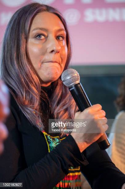 Erica Tremblay at The Full Rainbow Centering Underrepresented Voices panel on January 26 2020 in Park City Utah