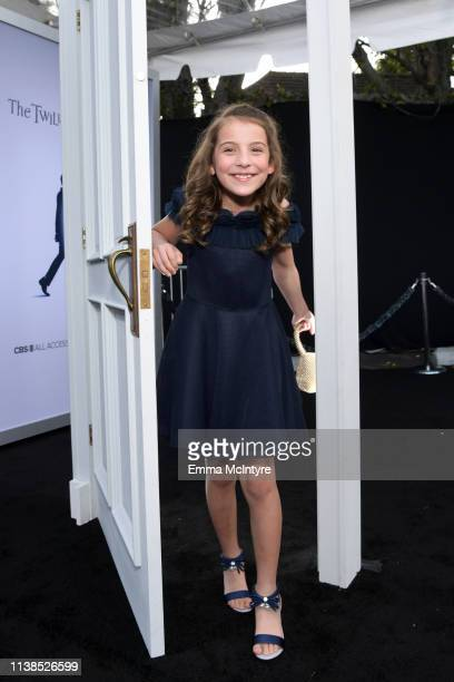 Erica Tremblay attends CBS All Access new series The Twilight Zone premiere at the Harmony Gold Preview House and Theater on March 26 2019 in...