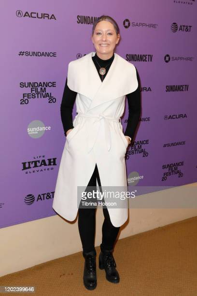Erica Tremblay attends the 2020 Sundance Film Festival La Leyenda Negra Premiere at Egyptian Theatre on January 27 2020 in Park City Utah