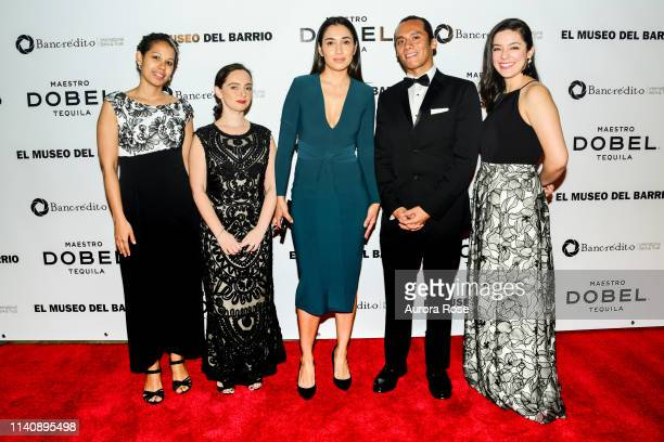 Erica Vargas Susanna Temkin Evelyn Rivera Valentine ConchaNunez and Rosario Calatayud attend El Museo del Barrio's 50th Anniversary Gala at The Plaza...