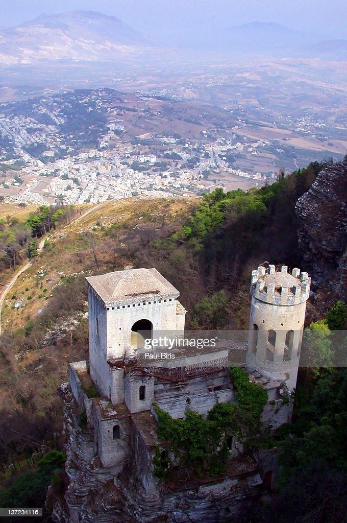 Erice Castle : Stock Photo