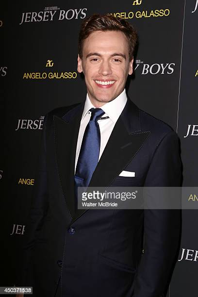 Erich Bergen attends a special New York screening reception for 'Jersey Boys' hosted by Angelo Galasso at Angelo Galasso on June 2014 in New York City