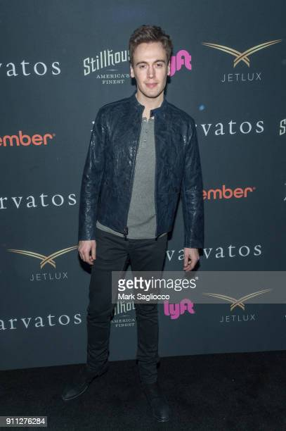Erich Bergen attends the John Varvatos SS'18 Ad Campaign Launch Party on January 27 2018 in New York City