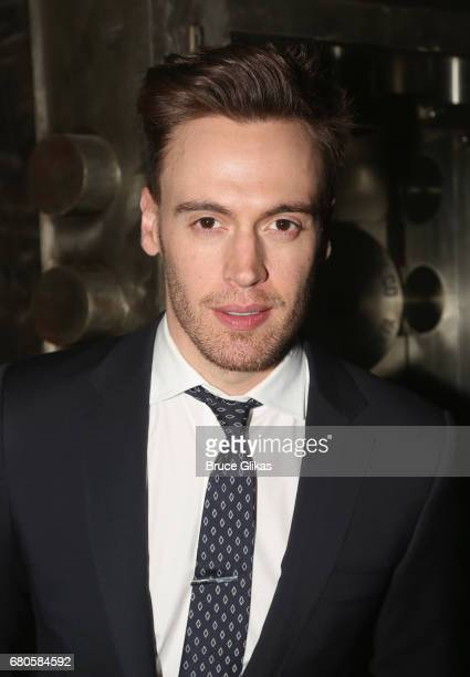 Erich Bergen poses at An American Daughter Benefit Reading at The Tony Kiser Second Stage Theatre on May 8 2017 in New York City