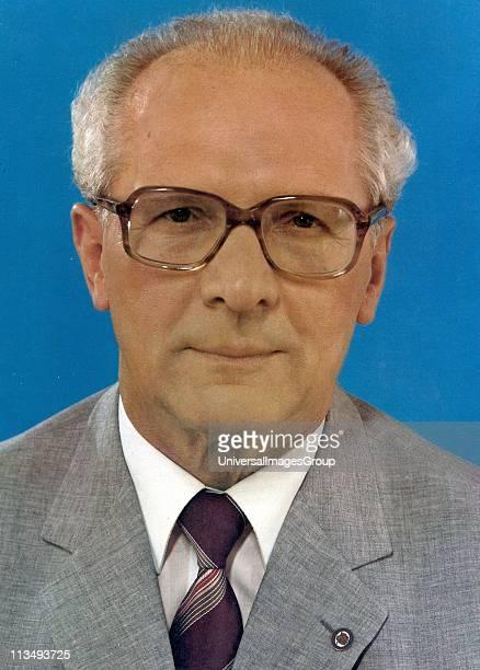 Erich Honecker 1912 1994 German Communist politician who led the German Democratic Republic from 1971 until 1989 circa 1975