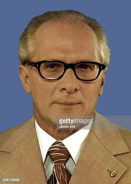 Erich Honecker * Politician SED German Democratic Republic 1980