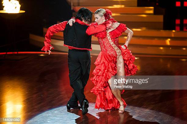 Erich Klann and Magdalena Brzeska perform during 'Let's Dance' 9th Show on May 09, 2012 in Cologne, Germany.