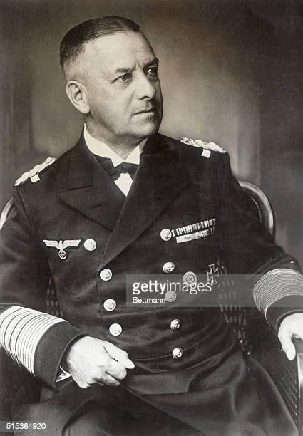 Erich Raeder German Admiral