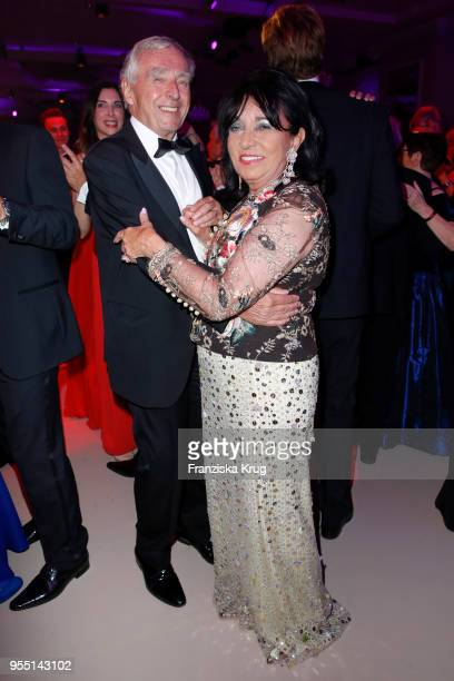 Erich Sixt and Regine Sixt during the Rosenball charity event at Hotel Intercontinental on May 5 2018 in Berlin Germany