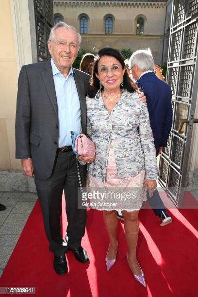 Erich Sixt CEO Sixt AG and his wife Regine Sixt during the reception of the 18th UniCredit FestspielNacht on the occasion of the 150th anniversary at...