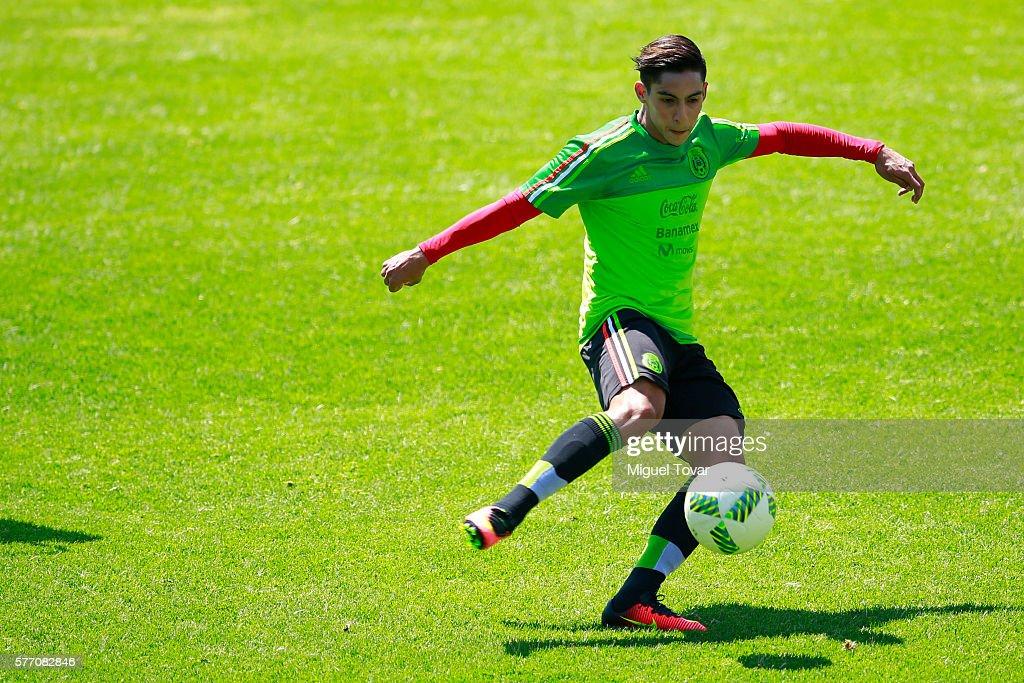 Mexico Training Session Ahead Rio 2016