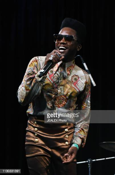Erick Alejandro Iglesias of Cimafunk performs onstage at SXSW presents the International Day Stage during the 2019 SXSW Conference and Festivals at...