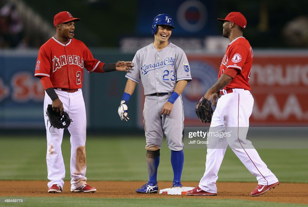 Kansas City Royals v Los Angeles Angels of Anaheim