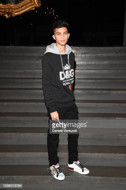 Erick Brian Colon attends the Dolce Gabbana show during Milan Fashion Week Spring/Summer 2019 on September 23 2018 in Milan Italy