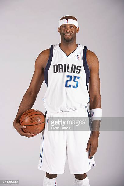 Erick Dampier of the Dallas Mavericks poses for a portrait during NBA Media Day at American Airlines Center on October 1 2007 in Dallas Texas NOTE TO...