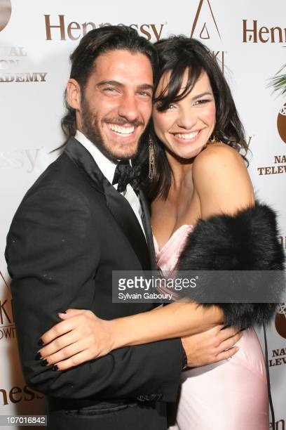 Erick Elias and Candela Ferro during 2nd Annual Leaders of Spanish Language Television Awards - After Party - Red Carpet at Nikki Uptown at 151 East...