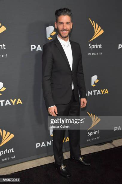 Erick Elias attends Pantaya and Sprint Celebrate collaboration and launch of Spanish-Language Streaming Service at Boulevard3 on October 10, 2017 in...
