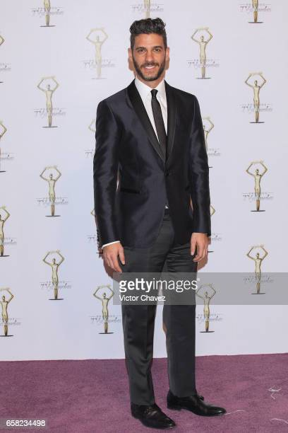 Erick Elias attends Premios Tv y Novelas 2017 at Televisa San Angel on March 26, 2017 in Mexico City, Mexico.