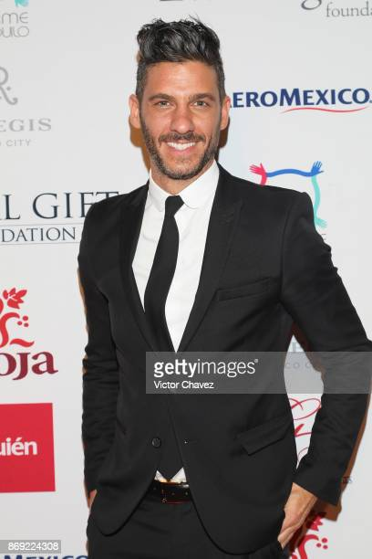 Erick Elias attends The Global Gift Gala Mexico 2017 at St Regis Hotel on November 1 2017 in Mexico City Mexico