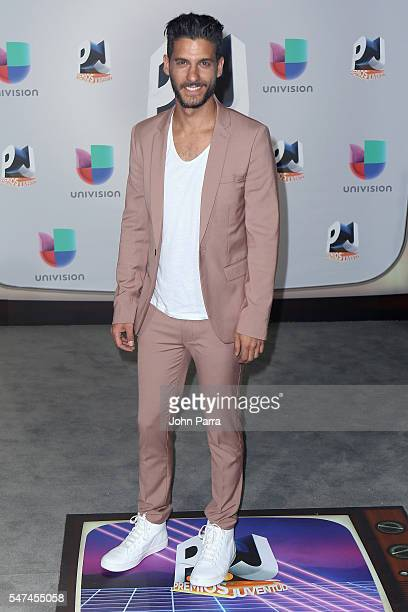 Erick Elias attends the Univision's 13th Edition Of Premios Juventud Youth Awards at Bank United Center on July 14 2016 in Miami Florida