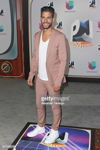 Erick Elias attends the Univision's 13th Edition Of Premios Juventud Youth Awards at Bank United Center on July 14, 2016 in Miami, Florida.