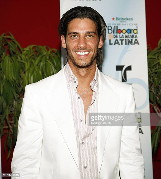 Erick Elias during 2006 Billboard Latin Music Conference and Awards - Arrivals at Seminole Hard Rock Hotel and Casino in Hollywood, Florida, United...
