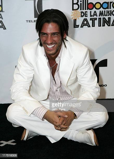 Erick Elias during 2006 Billboard Latin Music Conference & Awards - Press Room at Seminole Hard Rock Hotel and Casino in Hollywood, Florida, United...