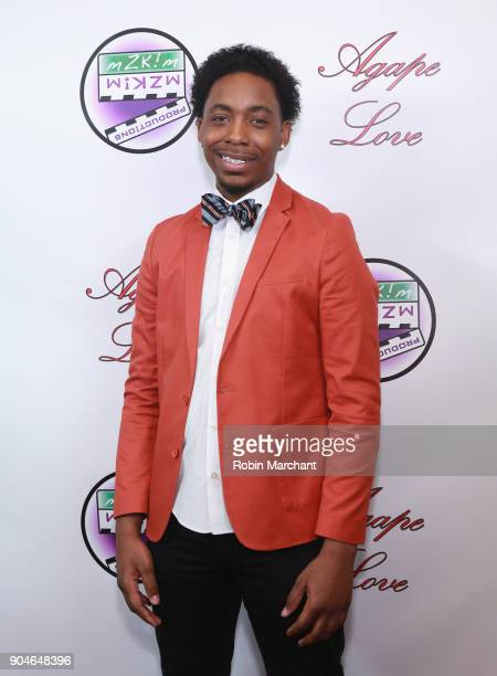 Erick Perkins attends Agape Love Red Carpet on January 13 2018 in Milwaukee Wisconsin